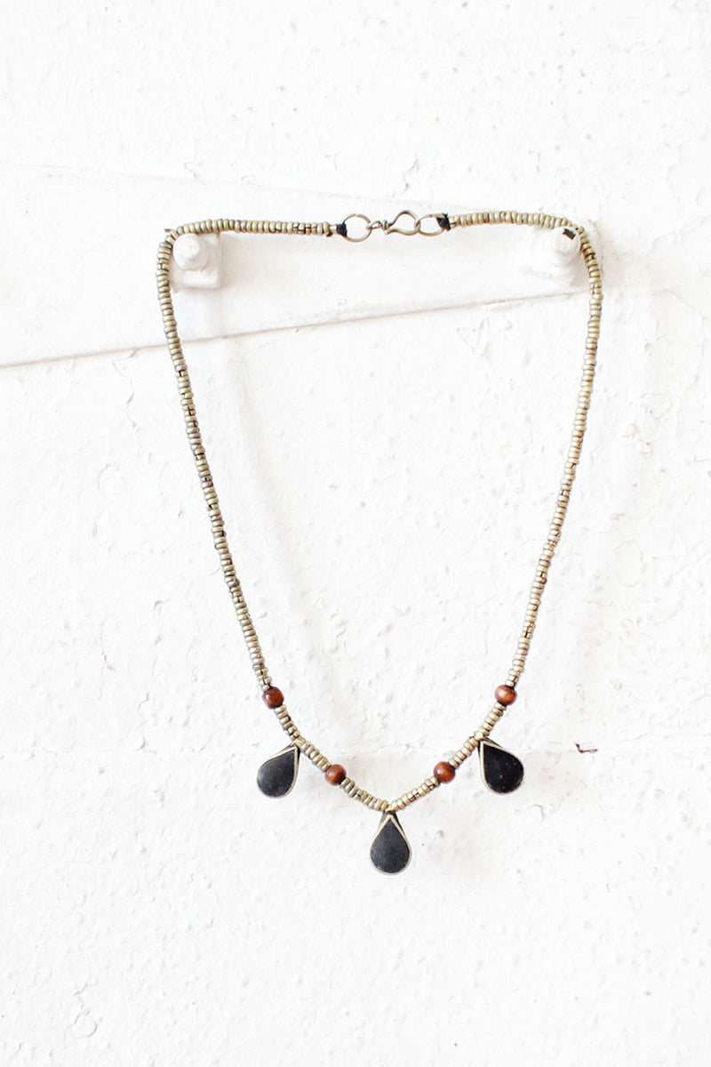 Kuchi Three Drops Necklace