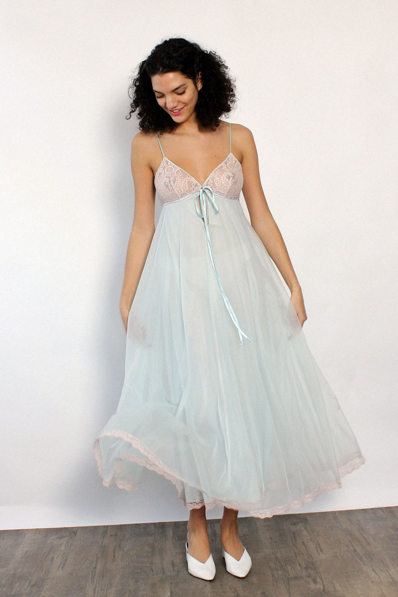 Floaty Lace Dream Nightgown S/M