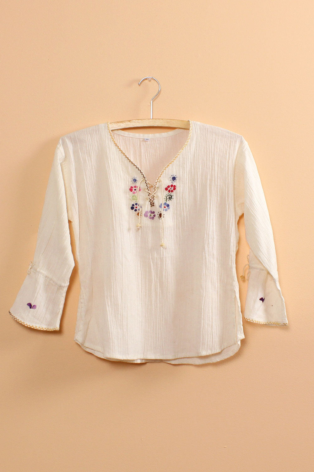 Daphne Embroidered Top XS/S