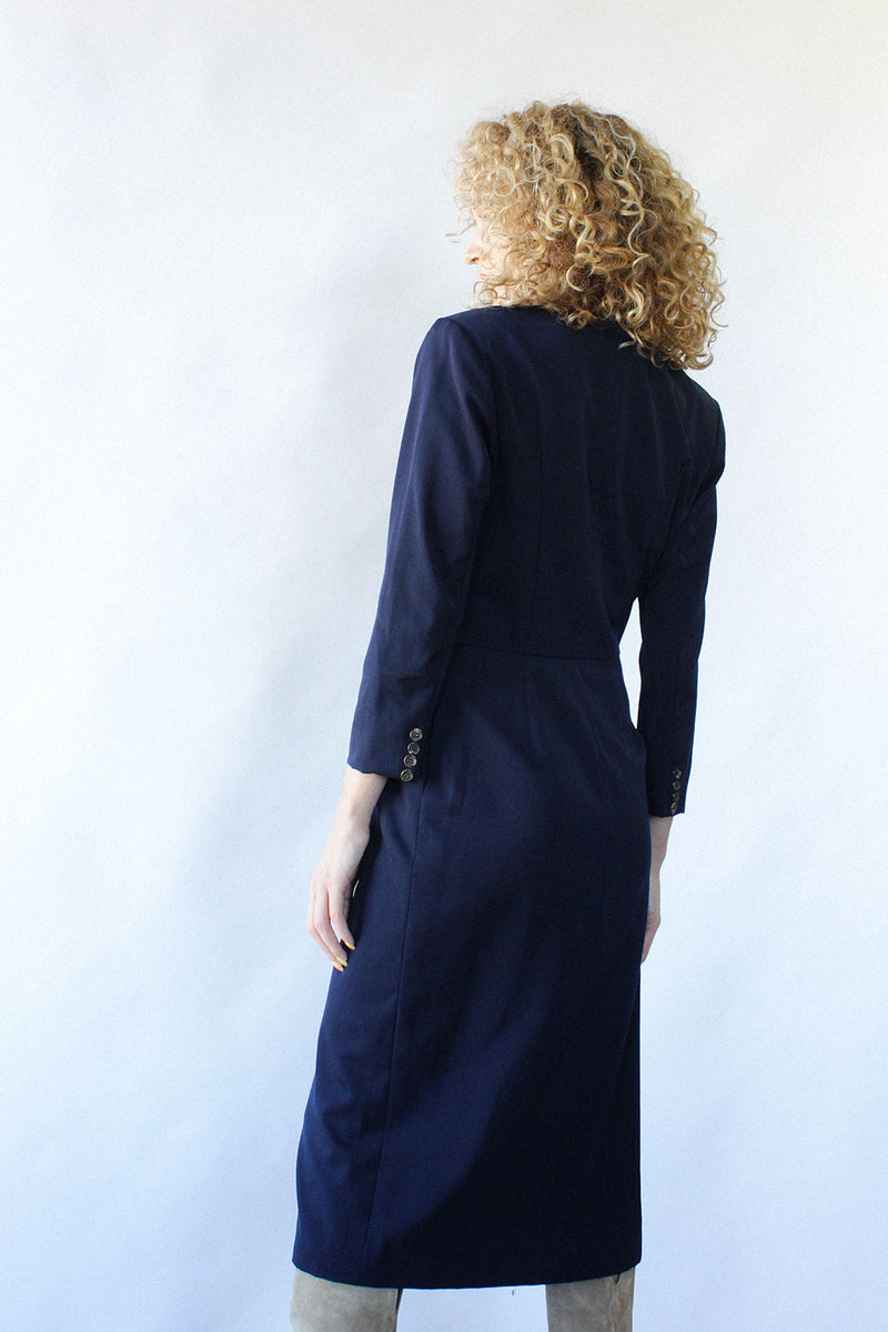 Ralph Lauren 1970s Blazer Dress S