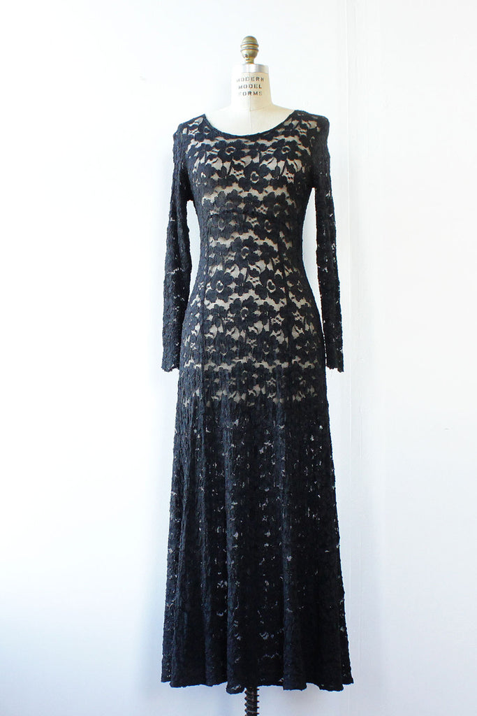 Fairuza Lace Maxi Dress S/M