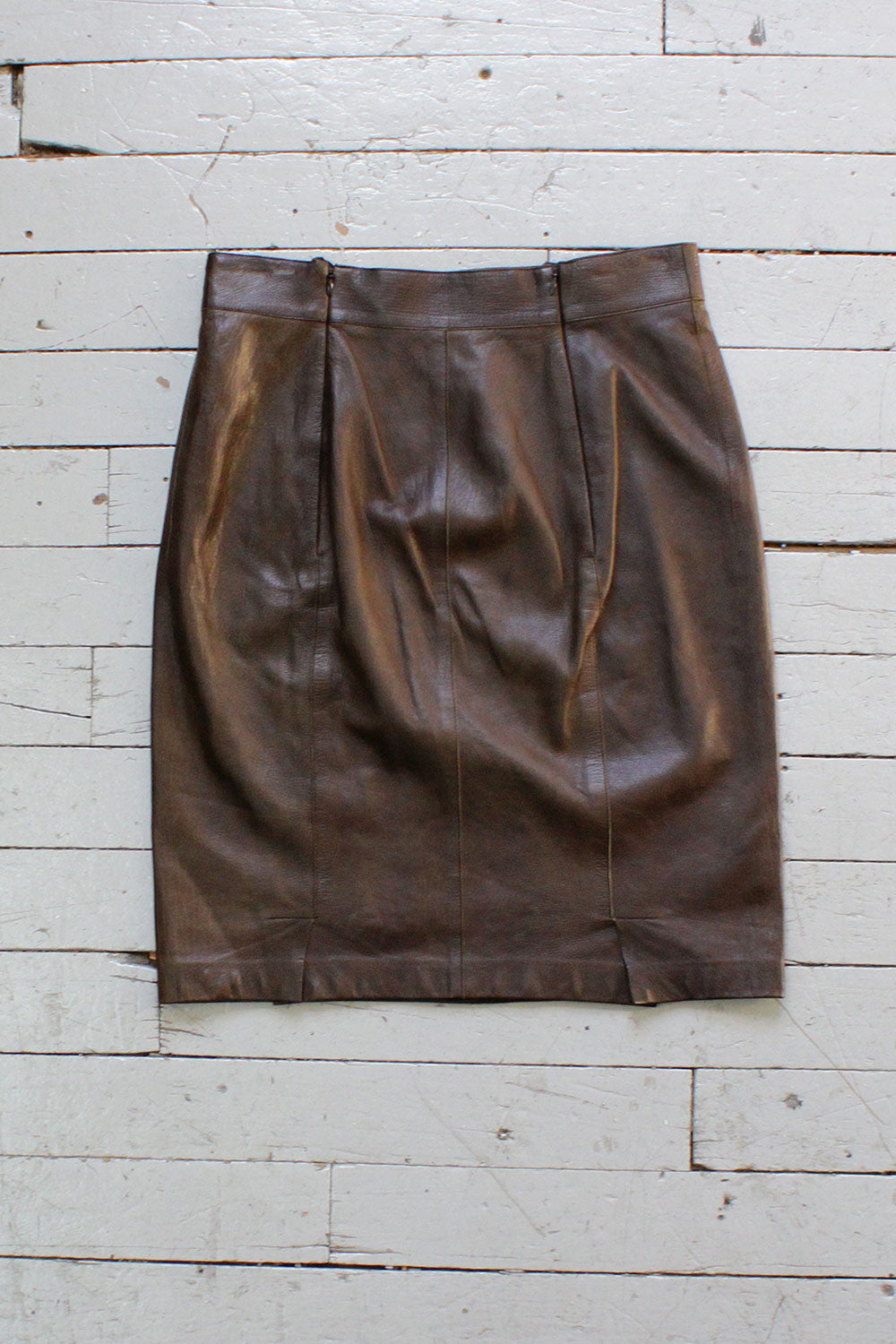 Akris Buttery Leather Skirt M