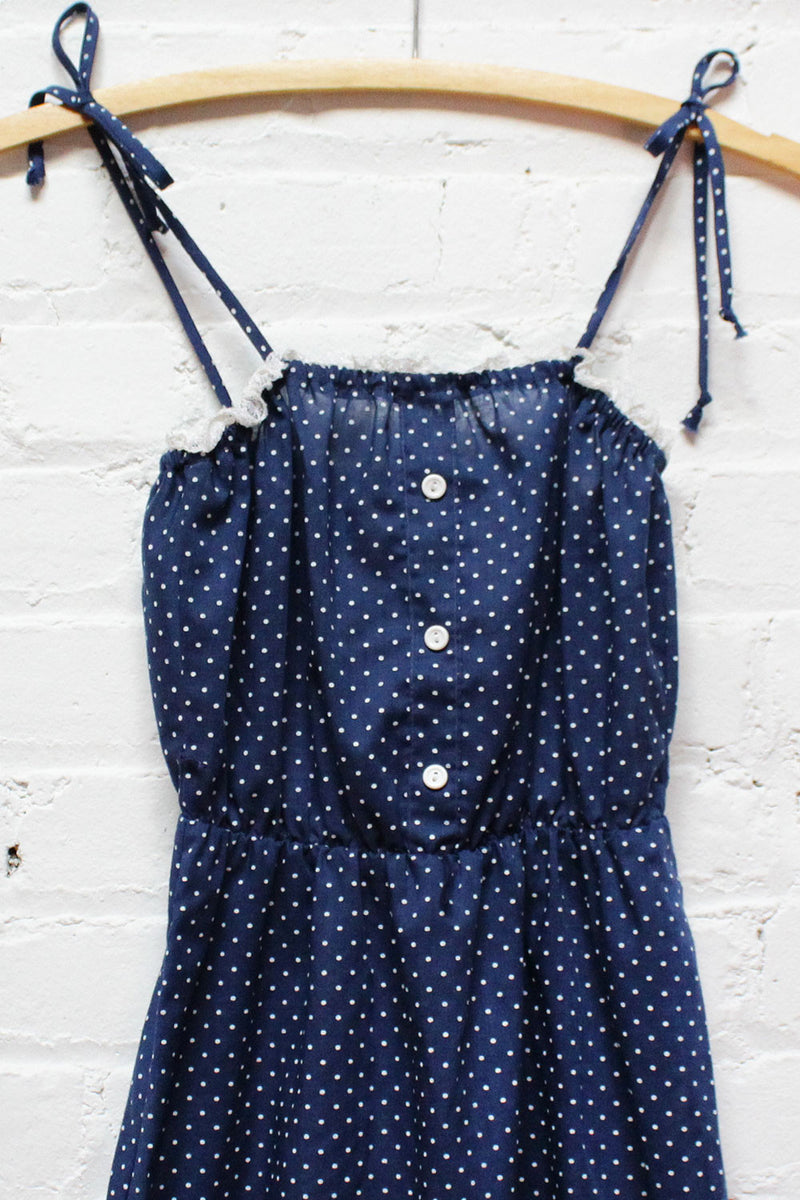 Polka Dot Sundress XS