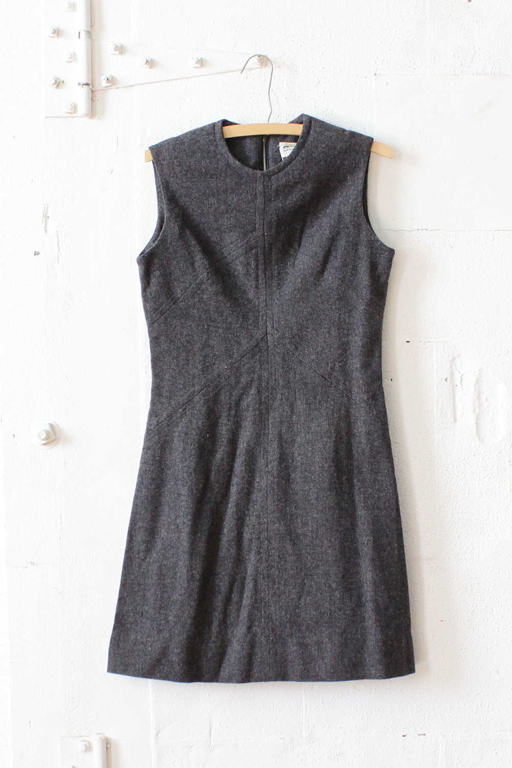 Charcoal Fit and Flare Dress S/M