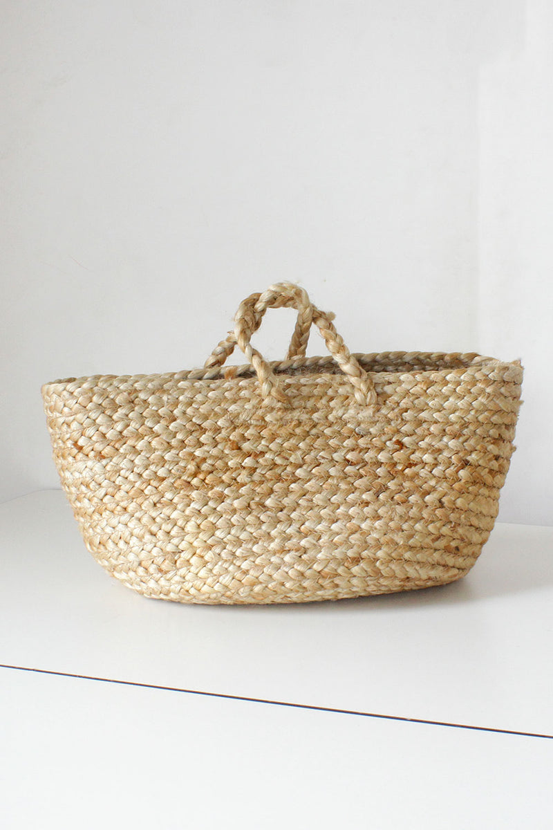 Wheat Braided Market Bag
