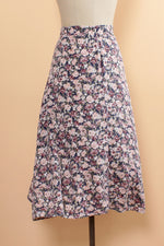 Chrysanthemum Button Skirt M/L