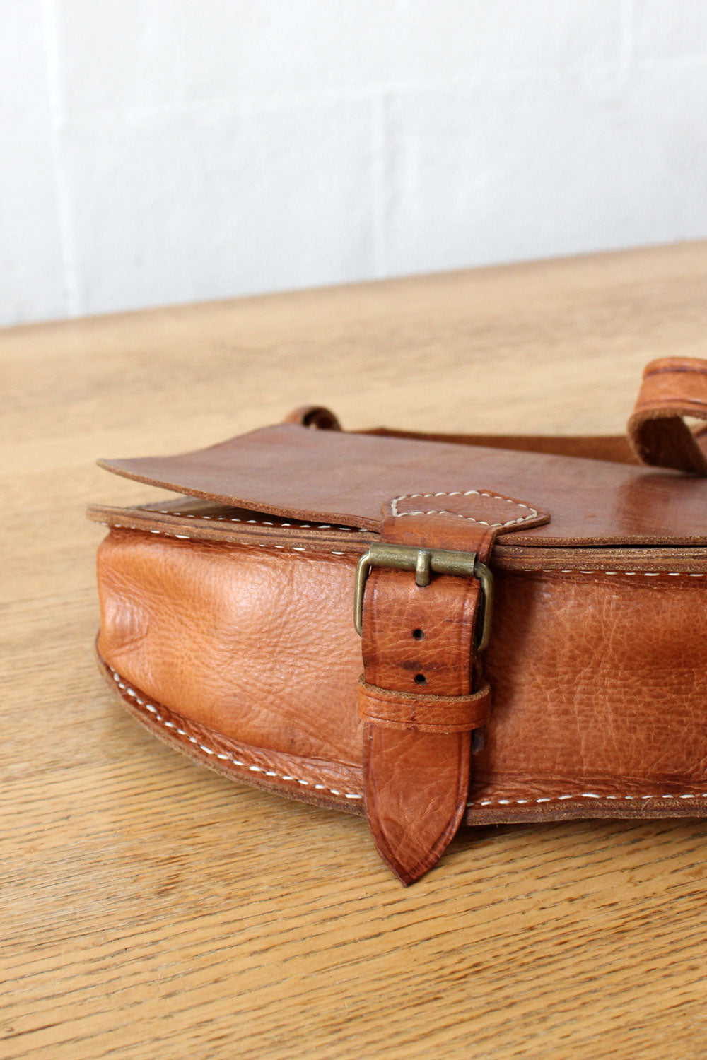 Chestnut Saddle Bag