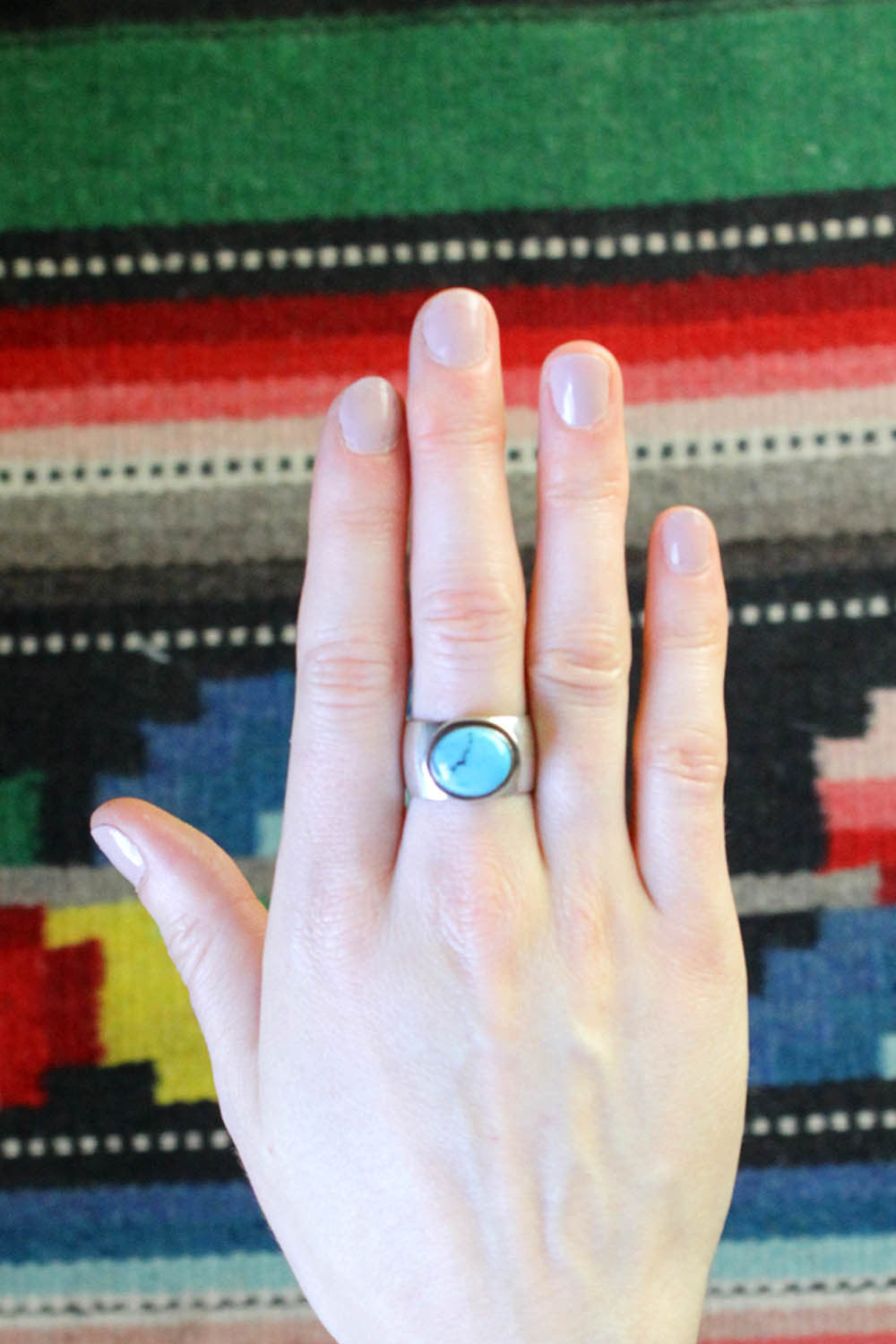 Turquoise Power Ring