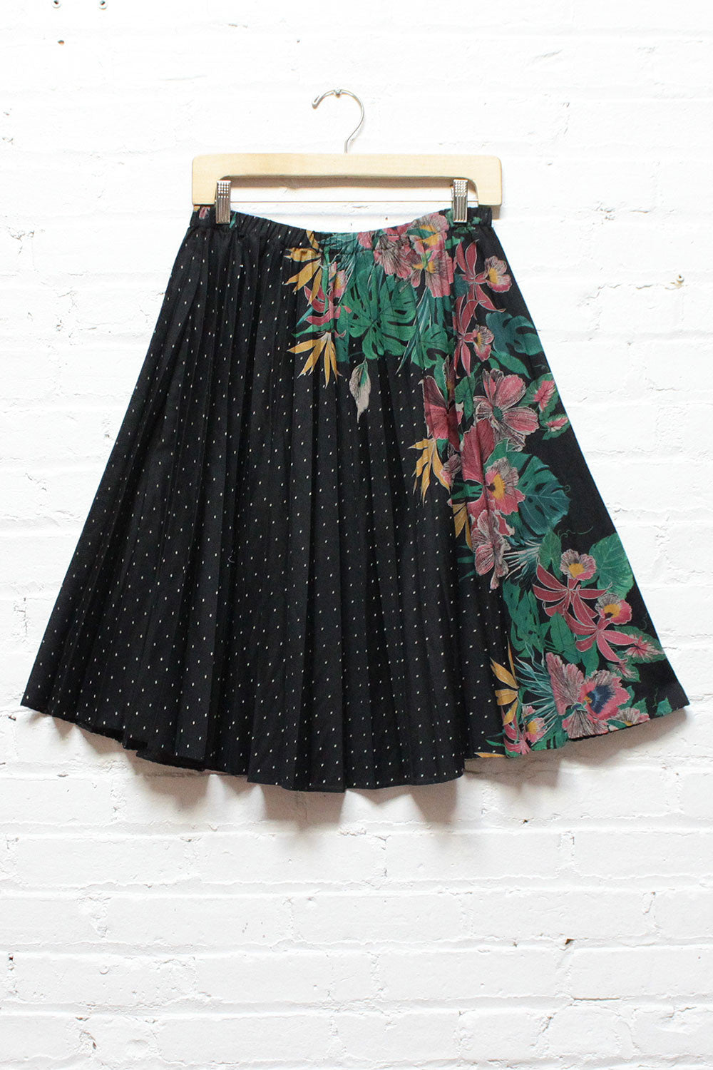 Philodendron Pleated Skirt M