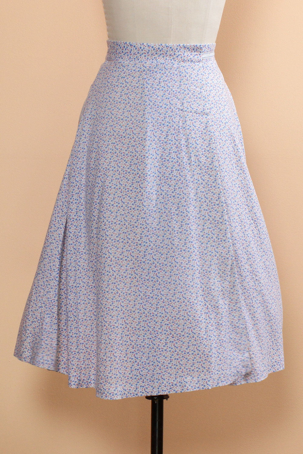 Calico Wrap Skirt XS/S