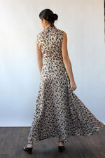Bronze Bubbly Maxi Dress M