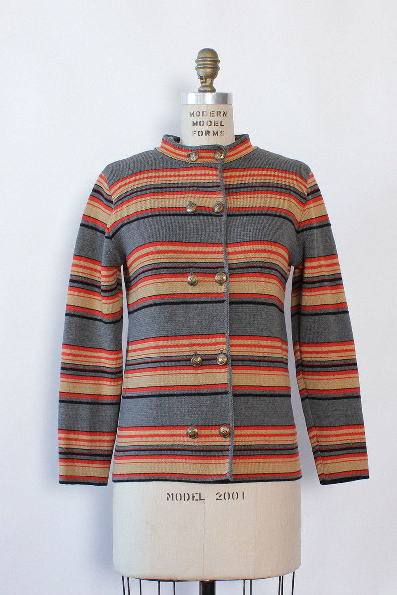 Sportissimo Striped Cardigan M/L