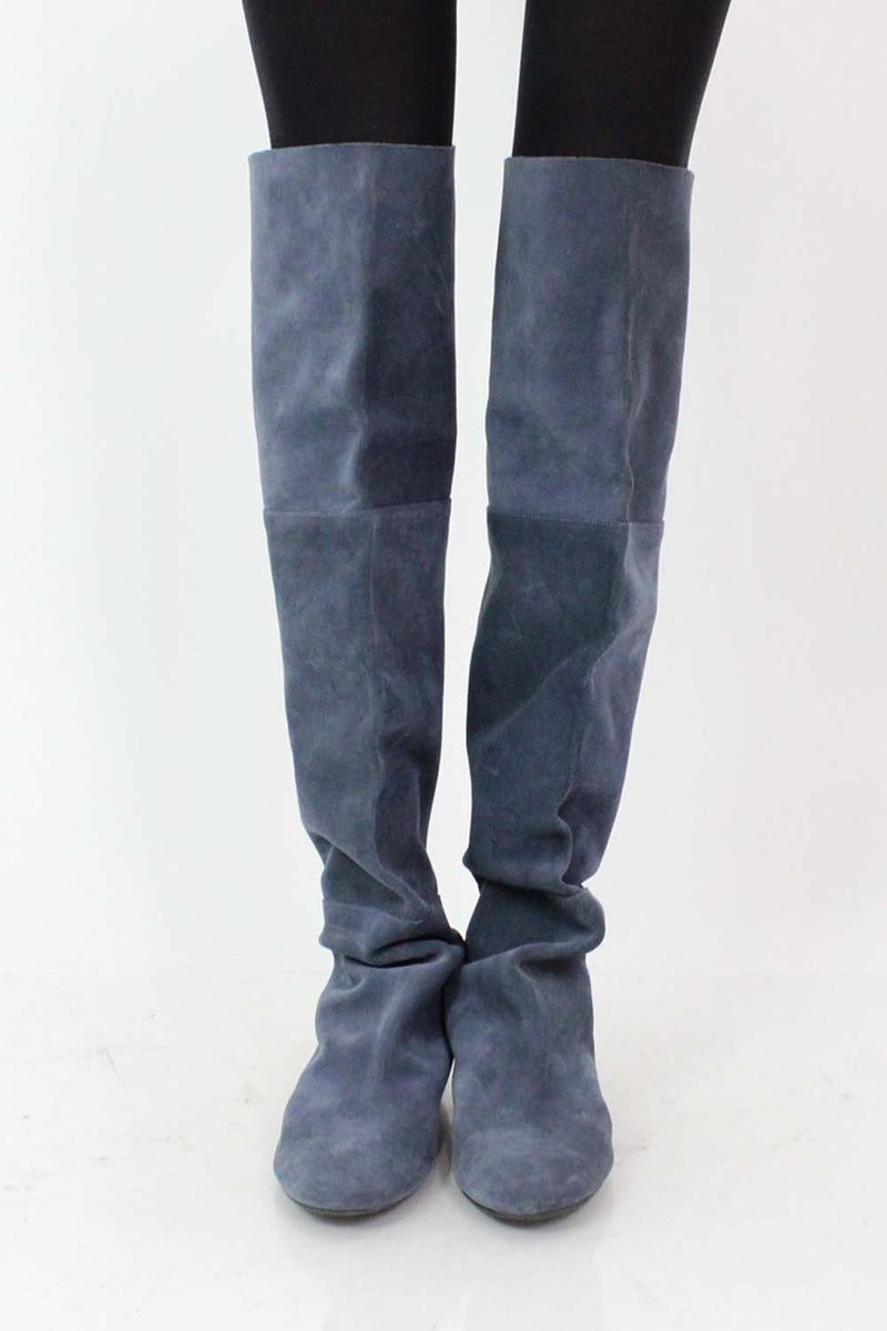 Over The Knee Suede Boots 8.5