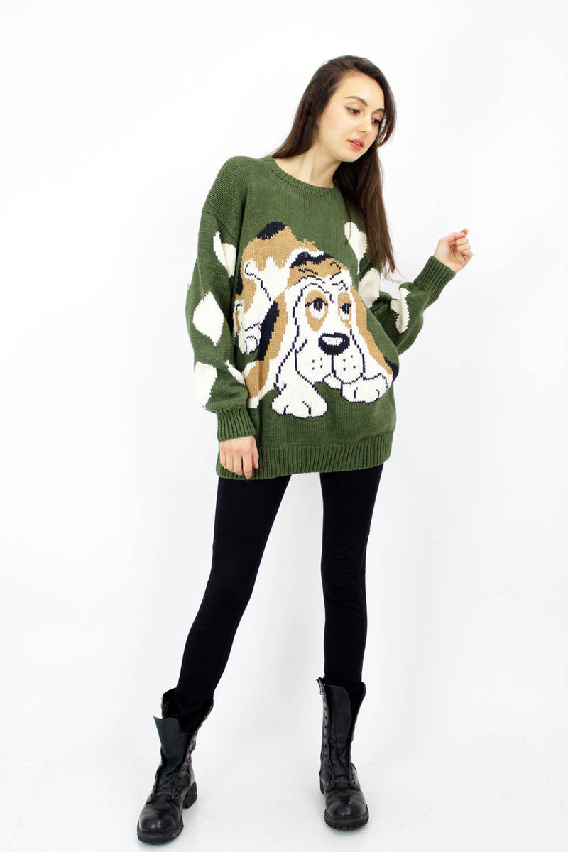 Doggie Oversized Sweater