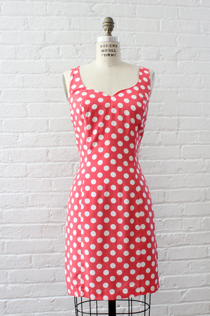 Beverly Polka Dot Dress M/L