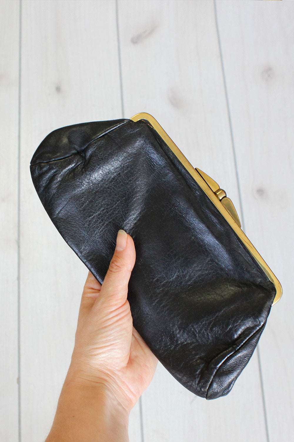 English Leather Pouch