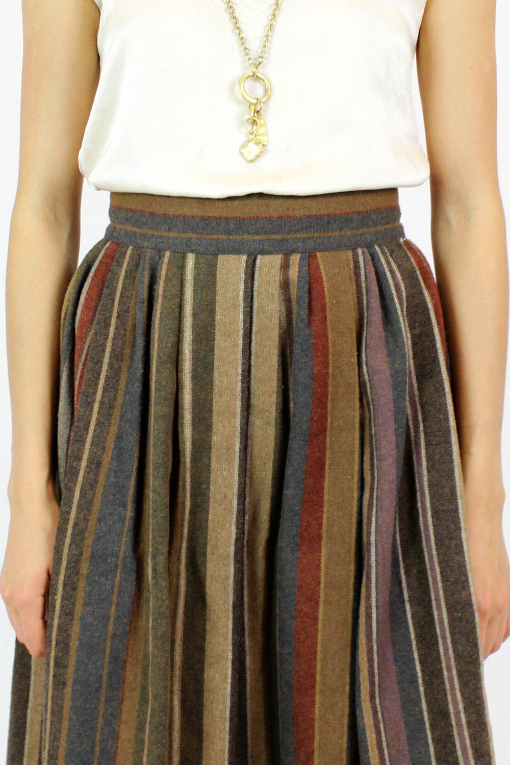 SALE... fireside blanket skirt M/L