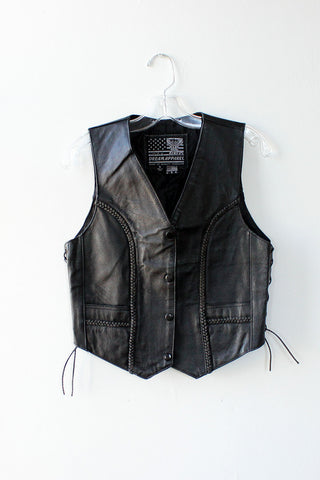 Leather Dream Vest S