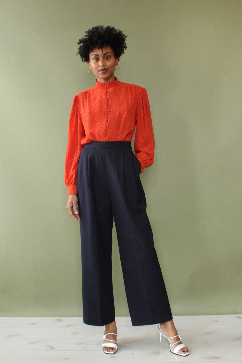 Gianni Pleat Pant M