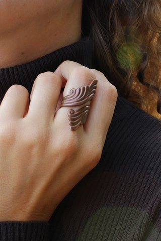 Copper Flute Ring