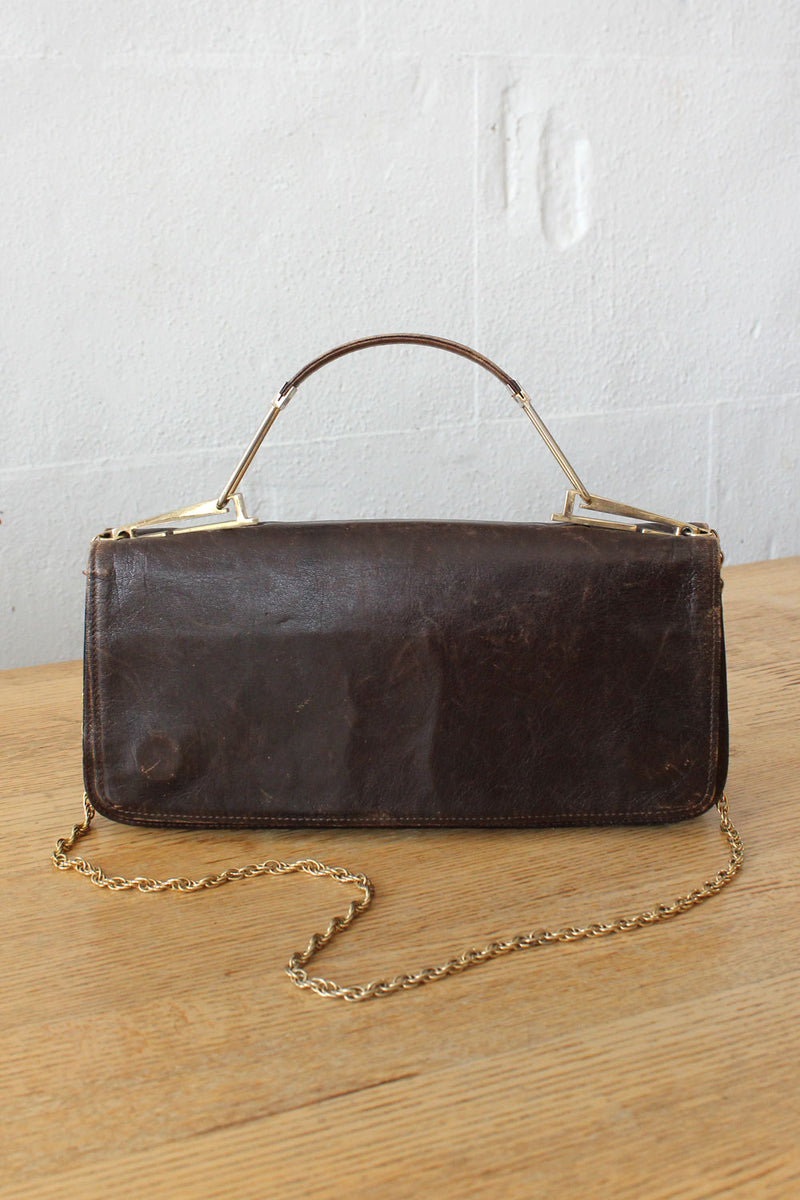 Blenfords Brunette Chain Bag