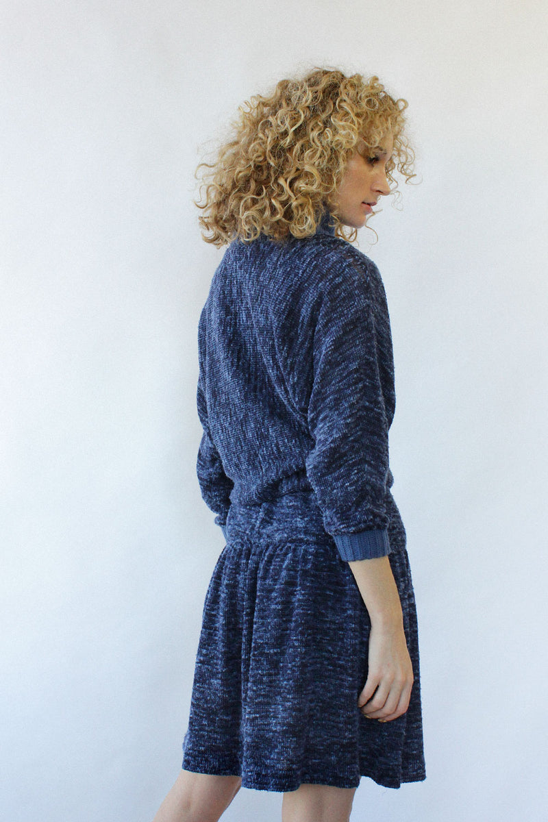Nubby Knit Sweaterdress XS-M