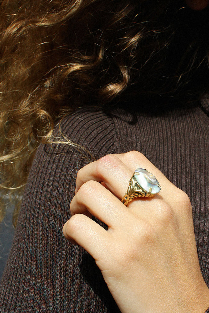 Enchanted Abalone Ring