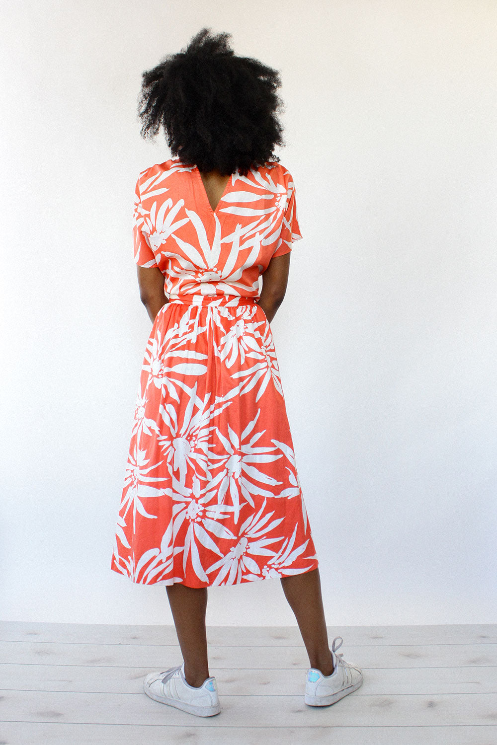 Tropical 2-Piece Skirt Set M