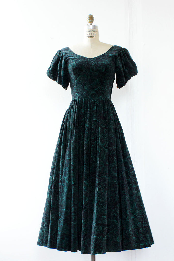 Ivy Velvet Princess Dress S