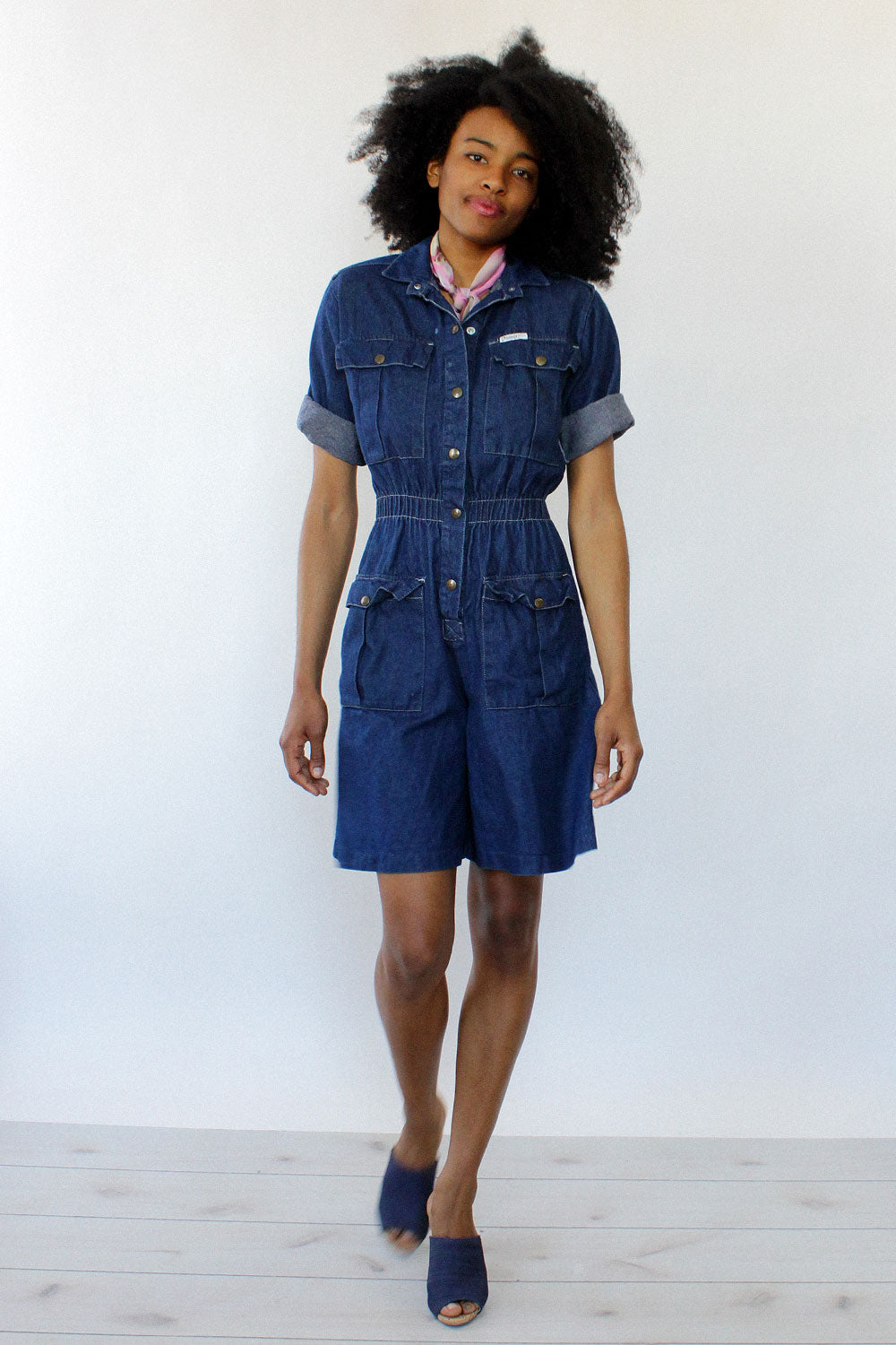 Denim Dreams Romper S/M