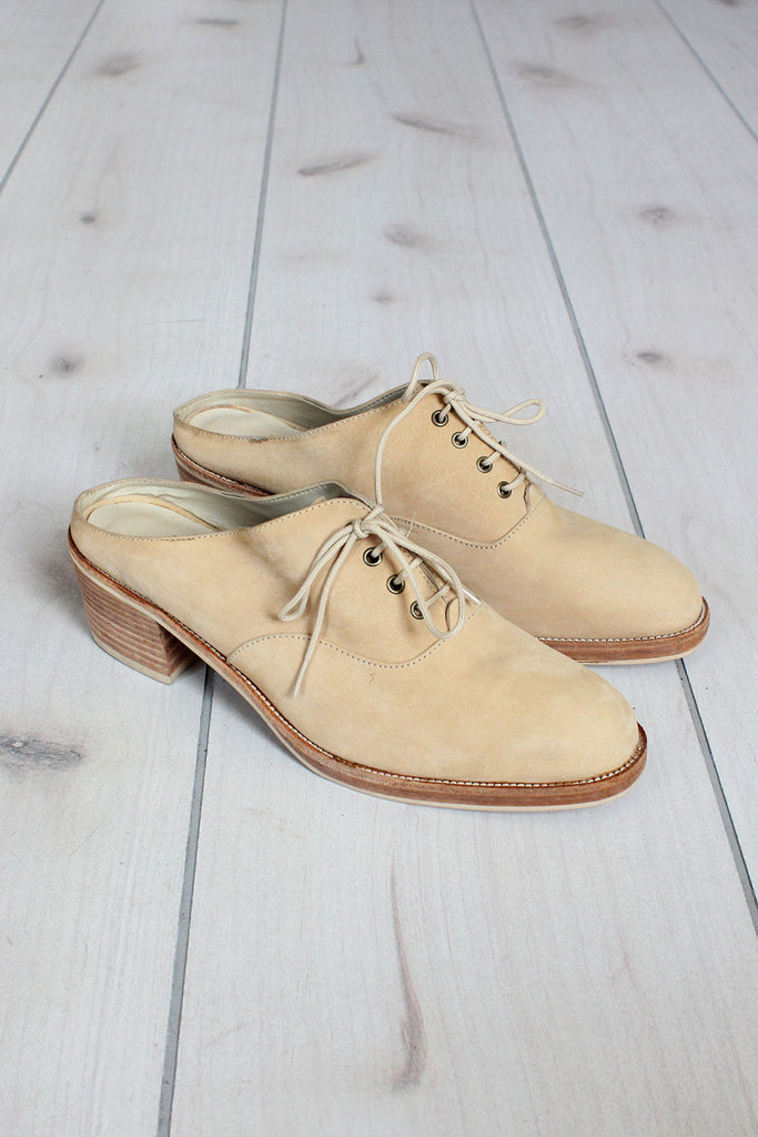 Pazzo Open-Back Oxfords 8 1/2