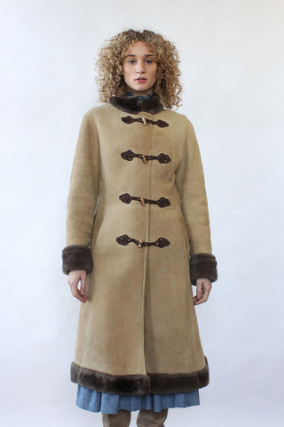 YSL Russian Collection Puff Sleeve Coat XS/S