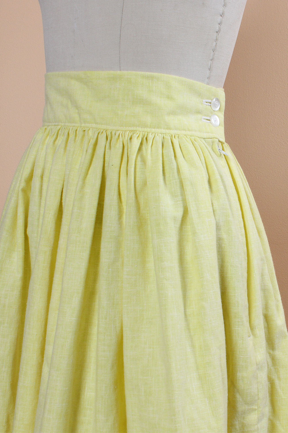Daffodil Cotton Skirt XS