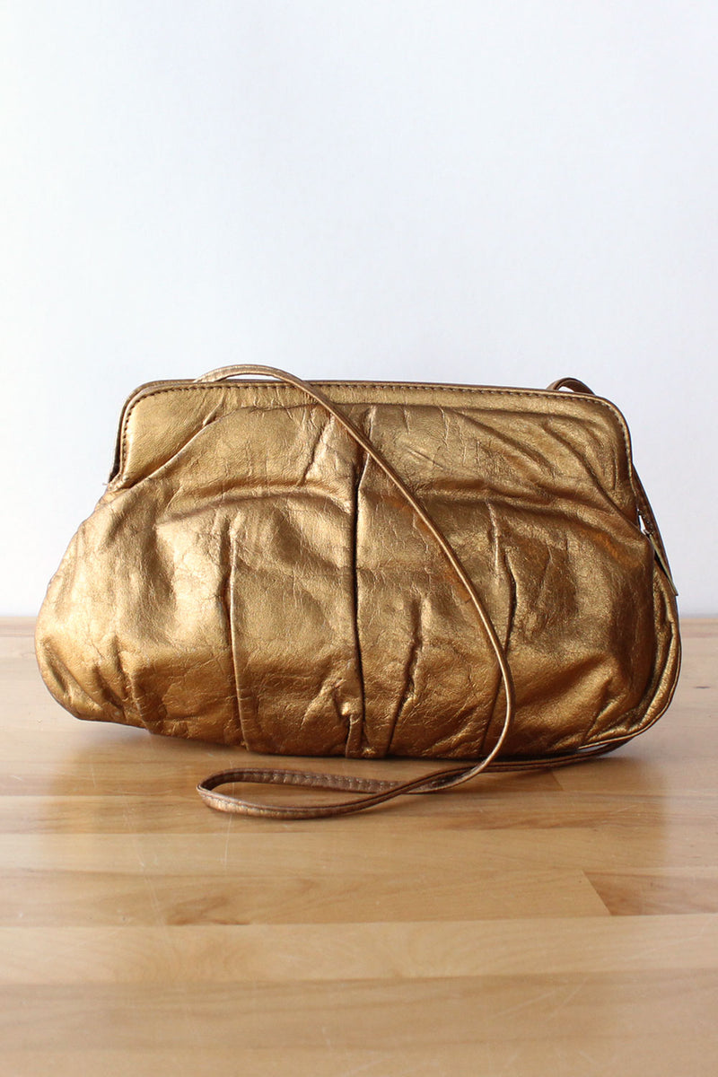 Golden Ticket Leather Purse