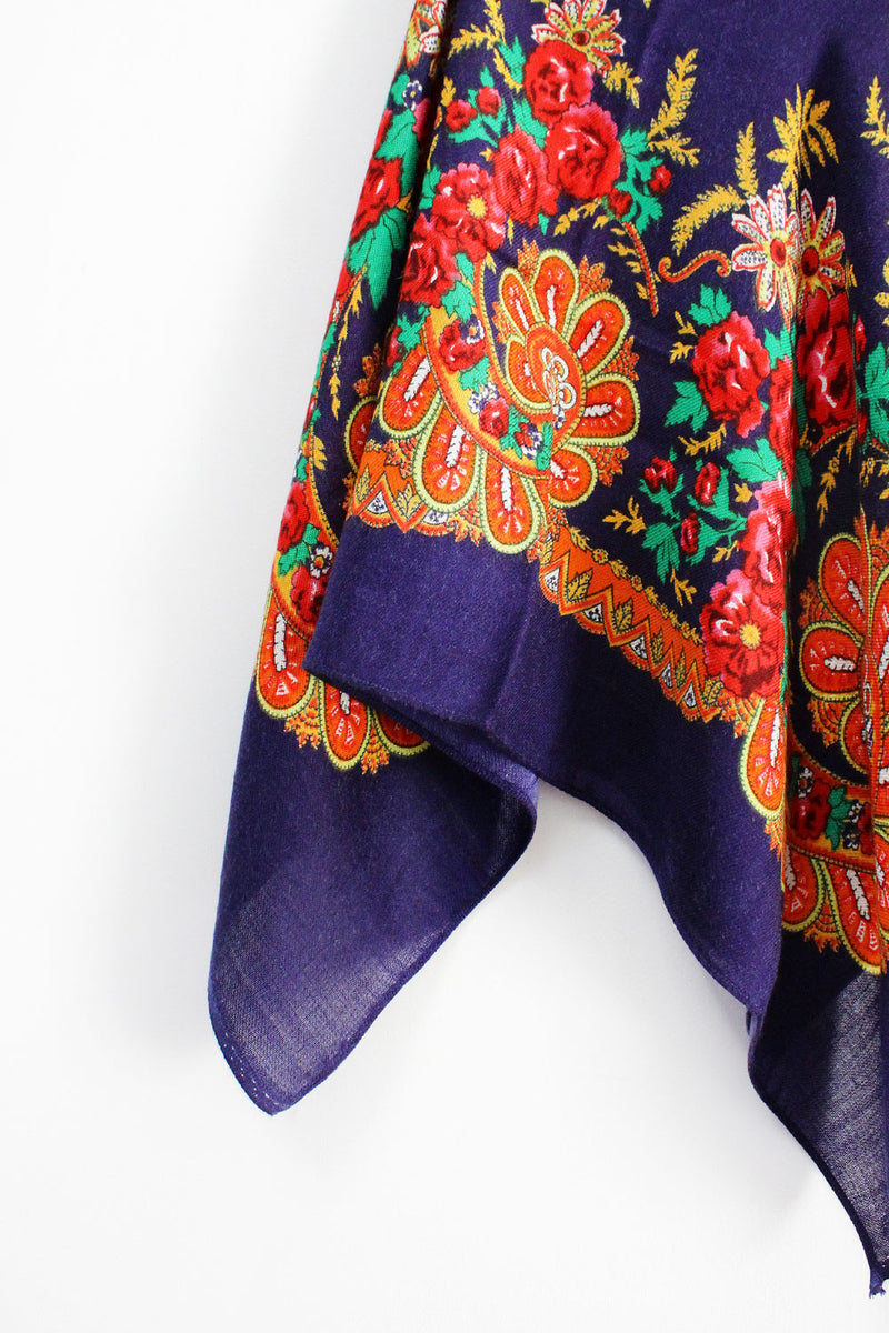 Royal Russian Floral Scarf