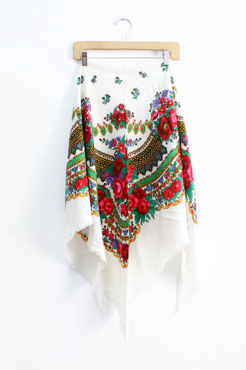 White Russian Shawl