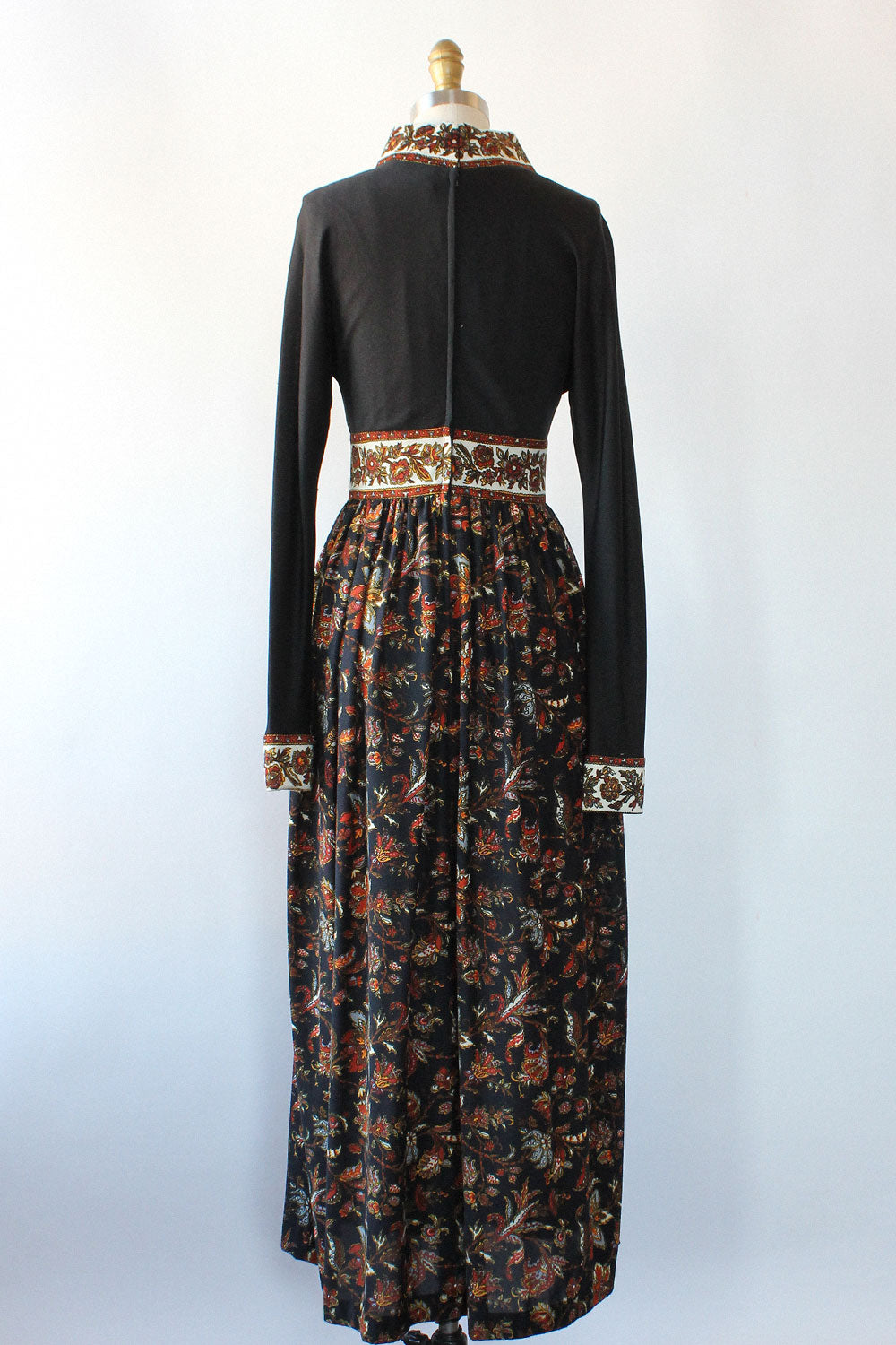 Autumnal Jersey Dress XS/S