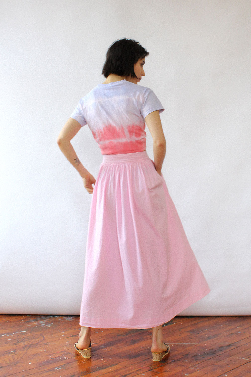 Ralph Lauren Rose Cotton Skirt XS