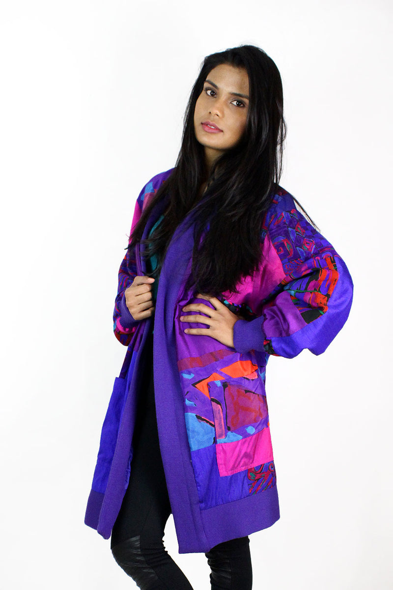 Silk Collage Jacket OS