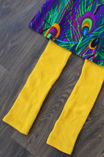 Lemon Knit Leggings XS/S