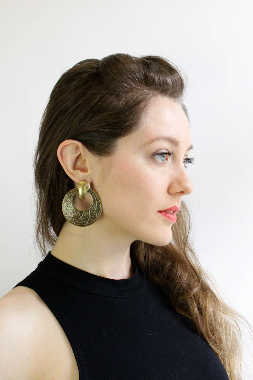Immortal Metal Hoop Earrings