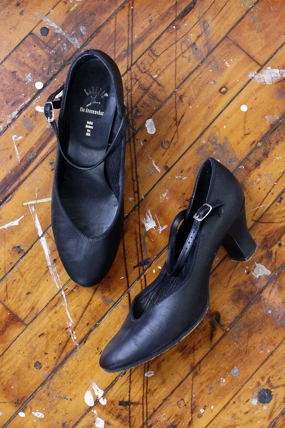 Dancing Leather Mary Janes 8