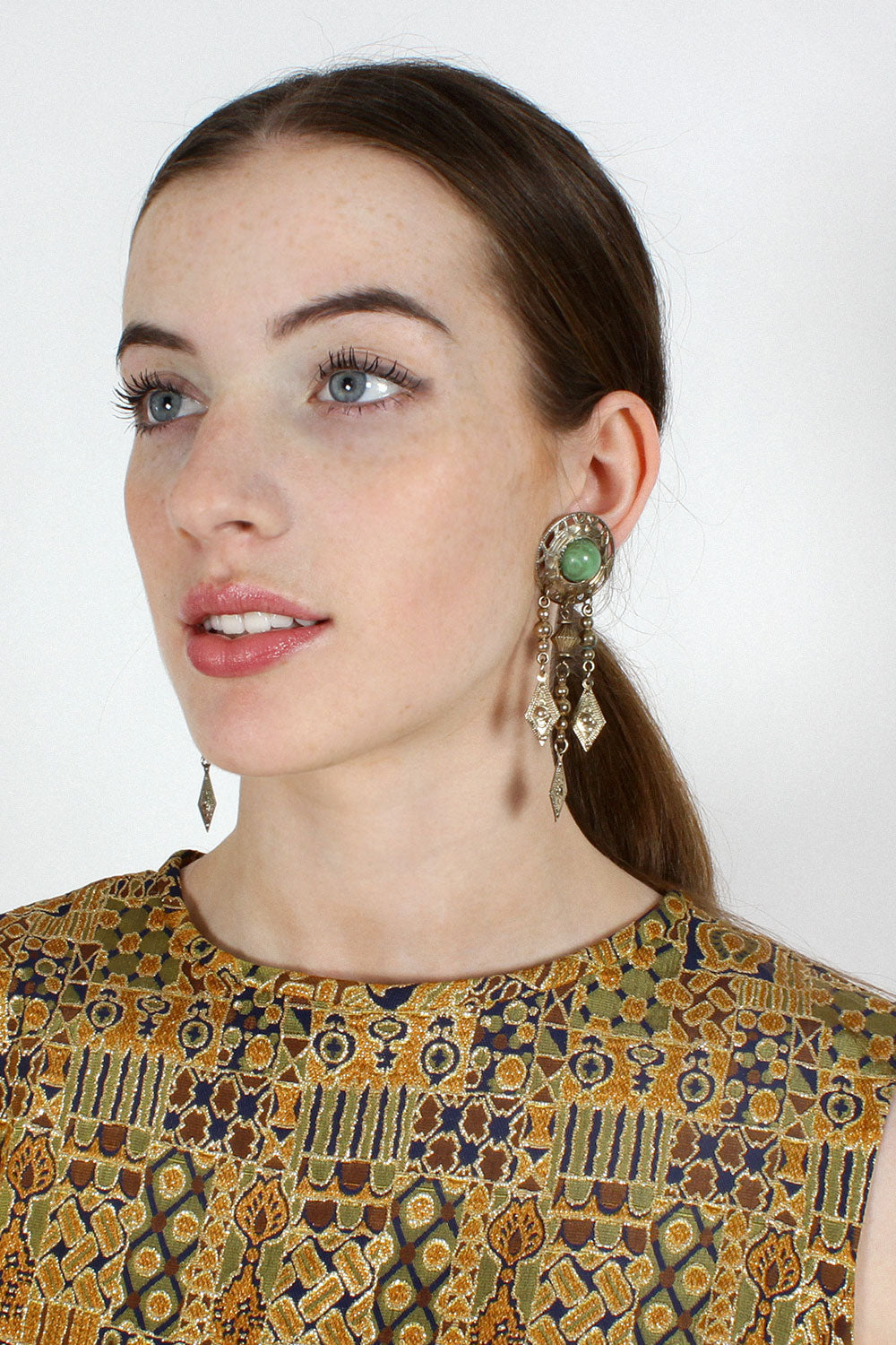 Byzantiney Dangle Earrings