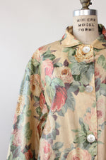 Nordic Tapestry Floral Rain Jacket M/L