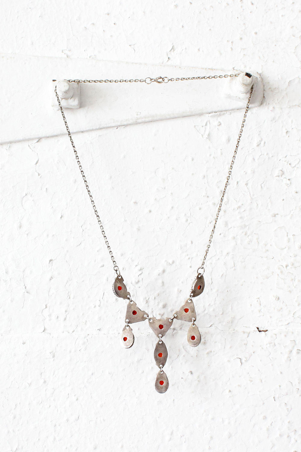 Agate Chandelier Necklace