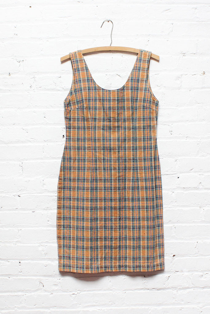 Dionne Plaid Dress M