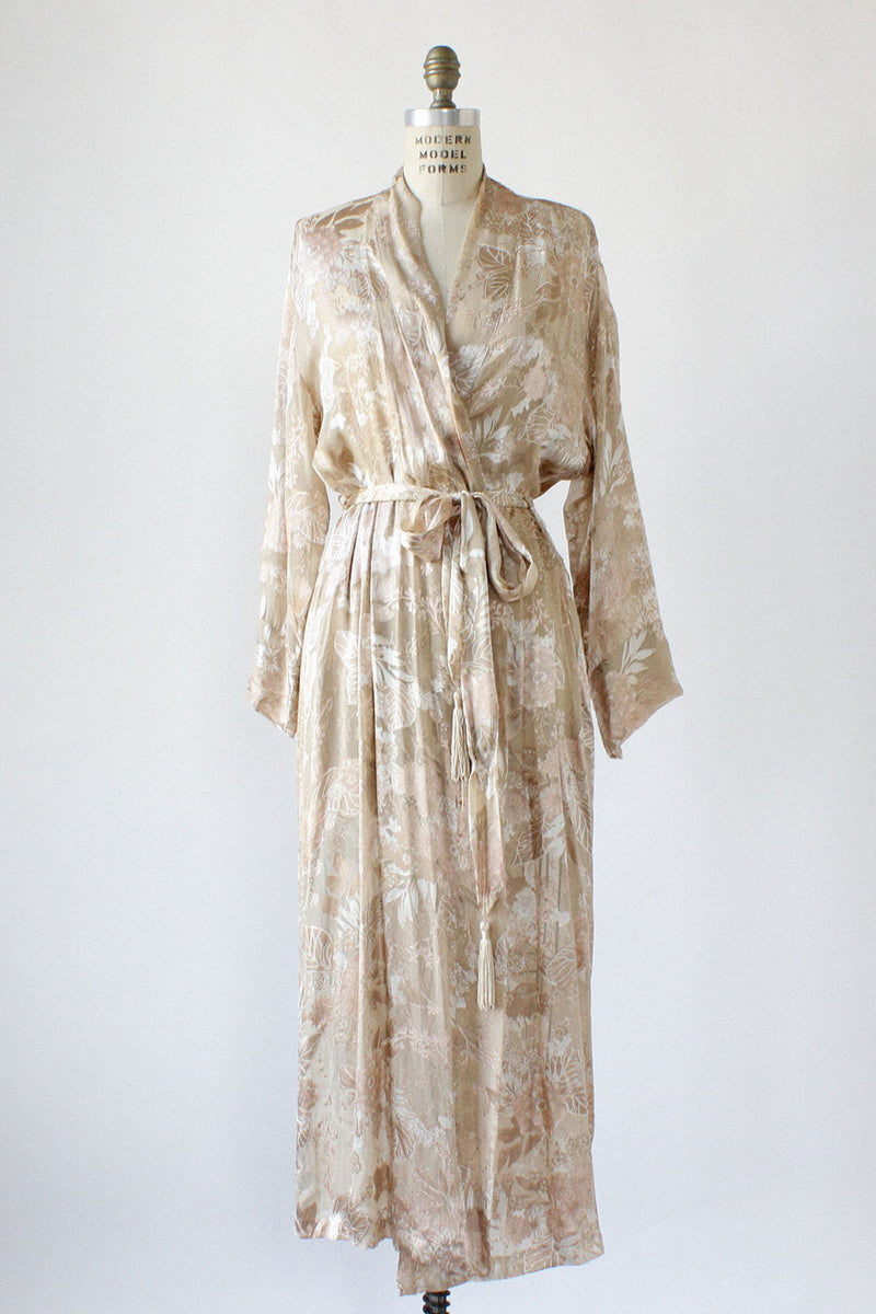 Annabelle Burnout Robe S/M