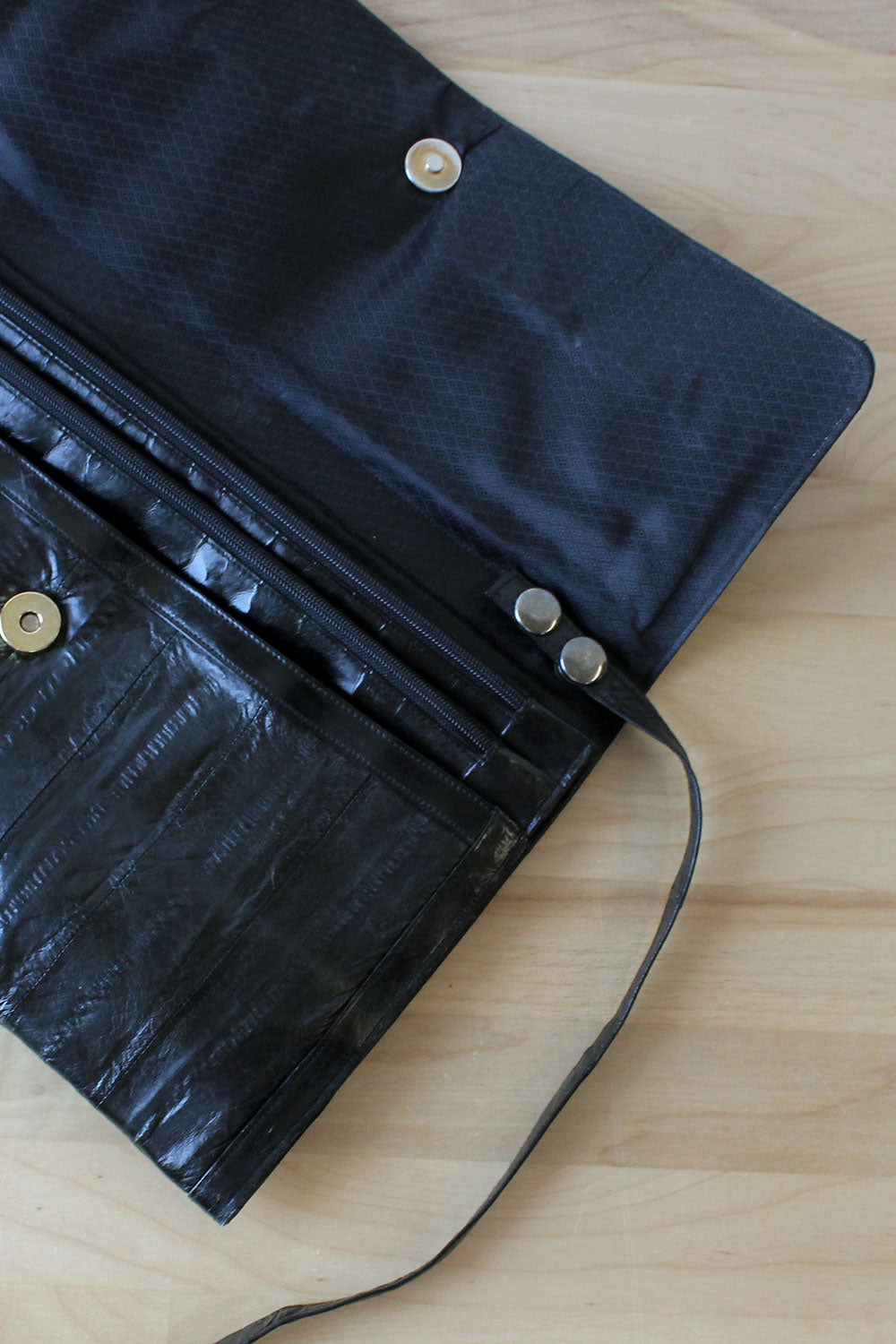 Jet Eelskin Convertible Bag