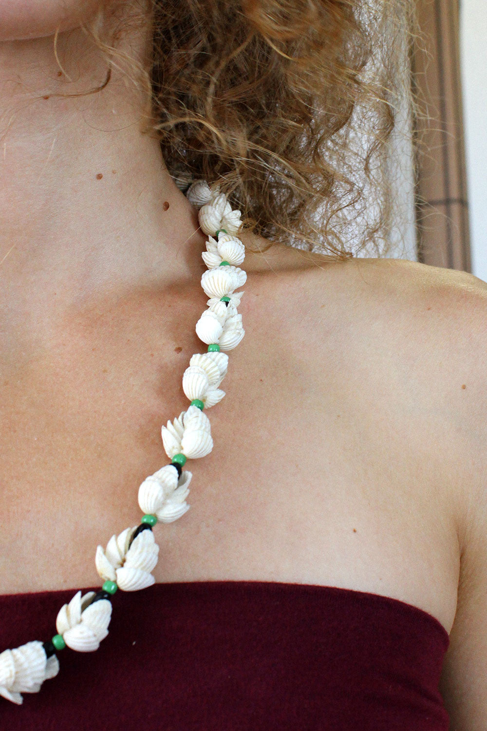 Coquille Bead Necklace