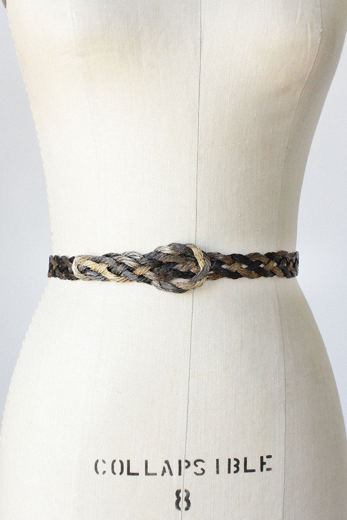 Braided Metal Belt